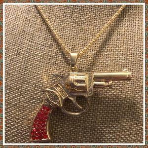 Jewelry - Gun Necklace